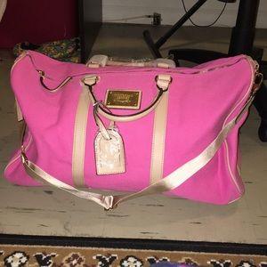 NEW PINK Victoria's Secret Large Bag